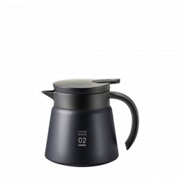 Thermal decanter Hario V60 60cl - Black
