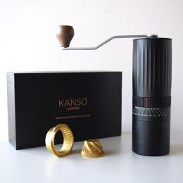 coffee grinder saigo burrset filter coffee