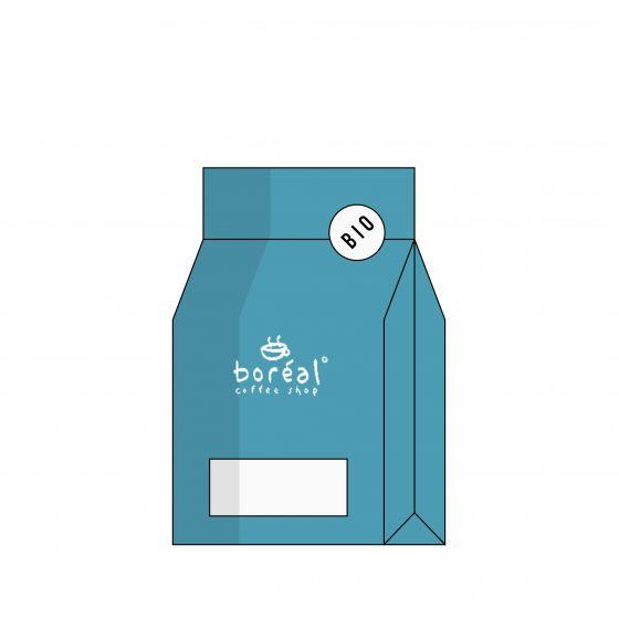 ORGANIC Whole Coffee Beans Boréal Shilicho - Ethiopia [Filter]