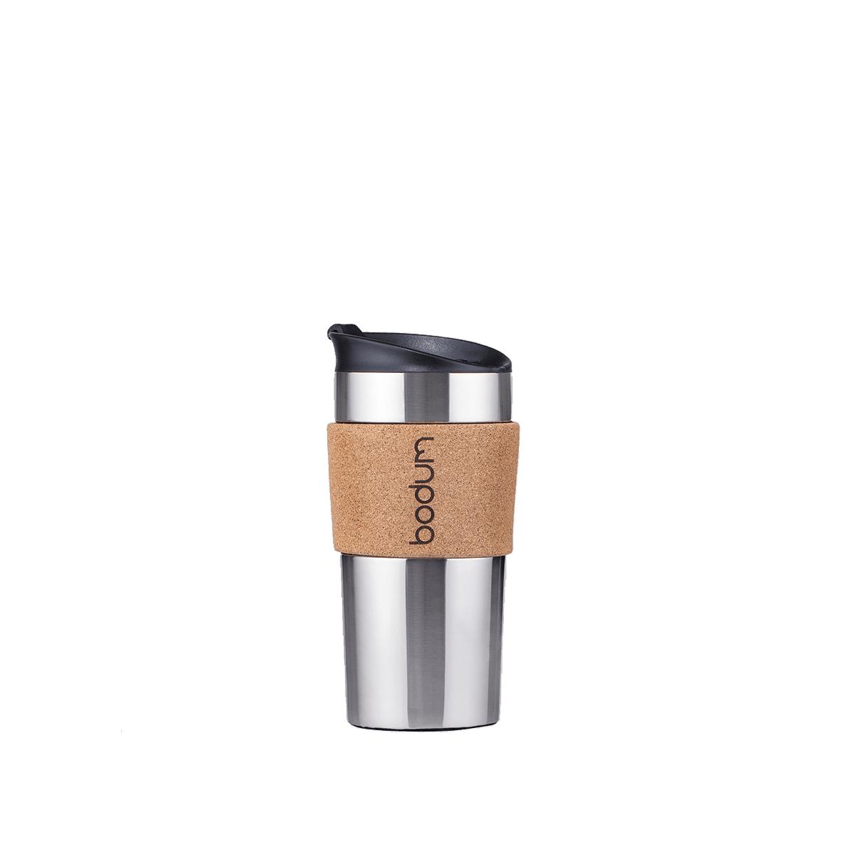 Travel Mug Doppelwandig Bodum® Travel Mug – Kork
