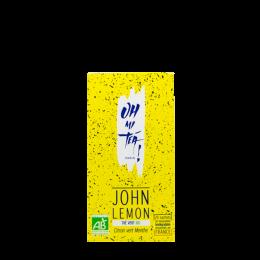 Thé vert bio Oh My Tea ! – Citron vert Menthe – John Lemon - Sachet