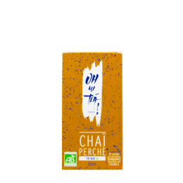 Organic black tea Oh My Tea! – Inda – Chaï Perché – Tea bags