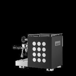 machine appartamento noir et blanche