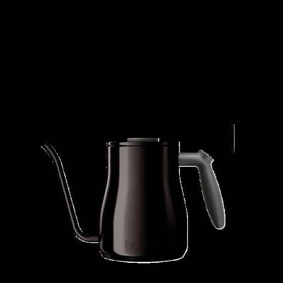 Gooseneck water kettle black