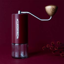 Coffee Grinder Comandante C40 [MK3] Nitro Blade Burgundy