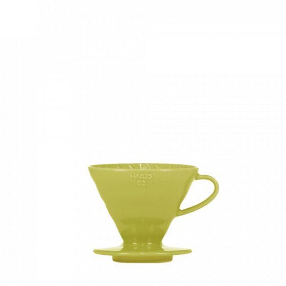 V60 dripper Hario porzellan [3/4 tassen] - hellgrün