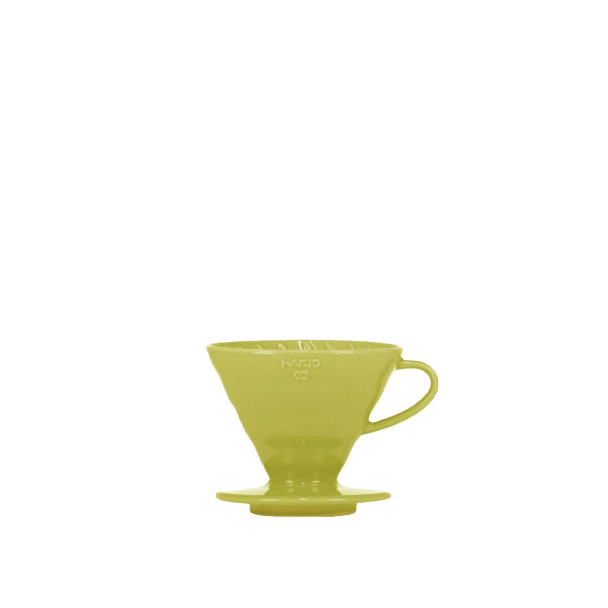 V60 Porcelain Dripper Hario [3/4 cups] - Light green