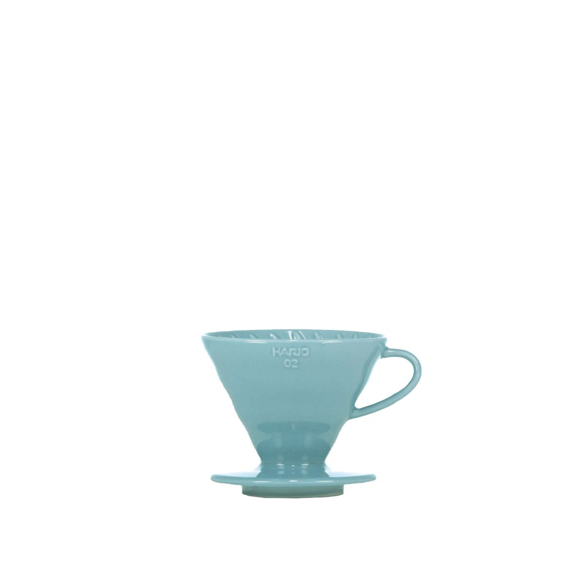 V60 Porcelain Dripper Hario [3/4 cups] - Turquoise blue