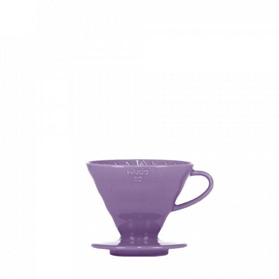 V60 dripper Hario porcelaine [3/4 tasses] - Violet