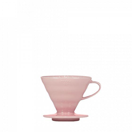 V60 dripper Hario porcelain [3/4 cups] - Pink