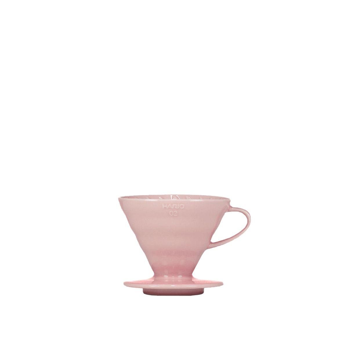 V60 Porcelain Dripper Hario [3/4 cups] - Pink