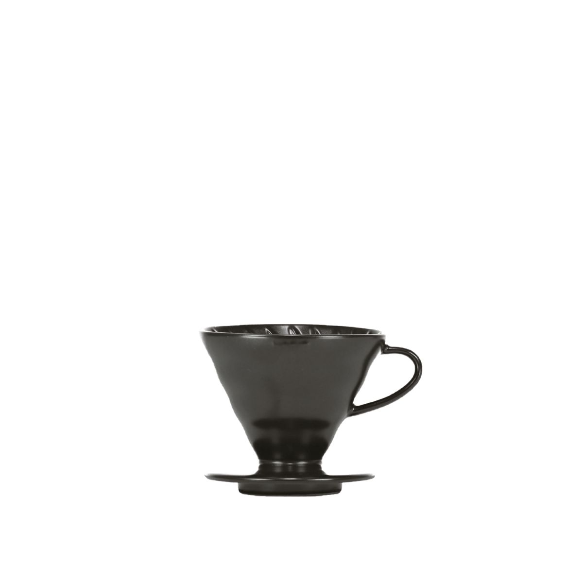 V60 Porcelain Dripper Hario [3/4 cups] - Matt black