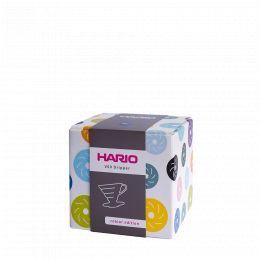 V60 dripper Hario porcelaine [3/4 tasses] - Bleu indigo
